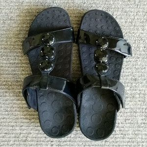 Vionic sandals with Orthaheel technology